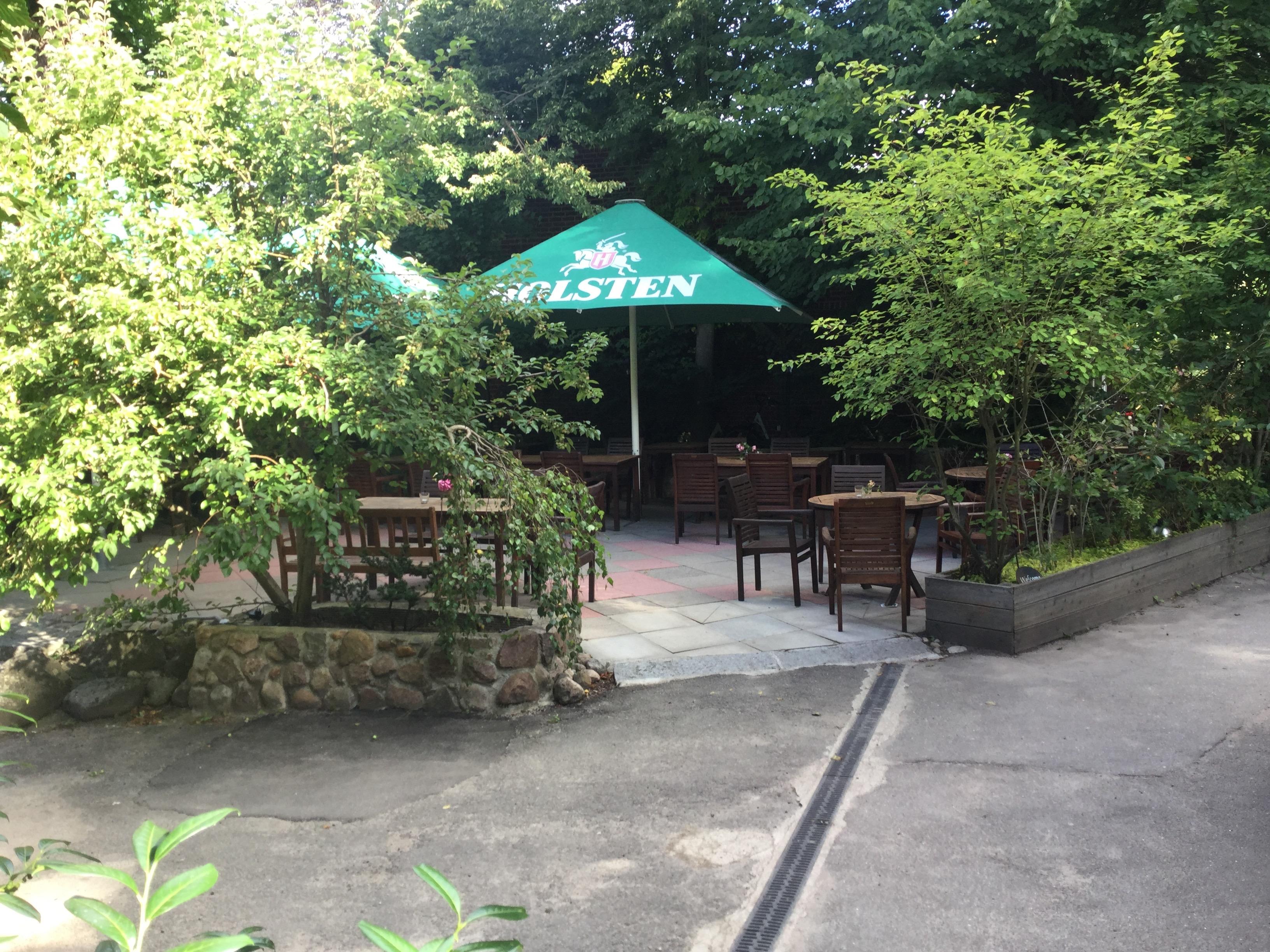 Unsere Restaurant-Terrasse