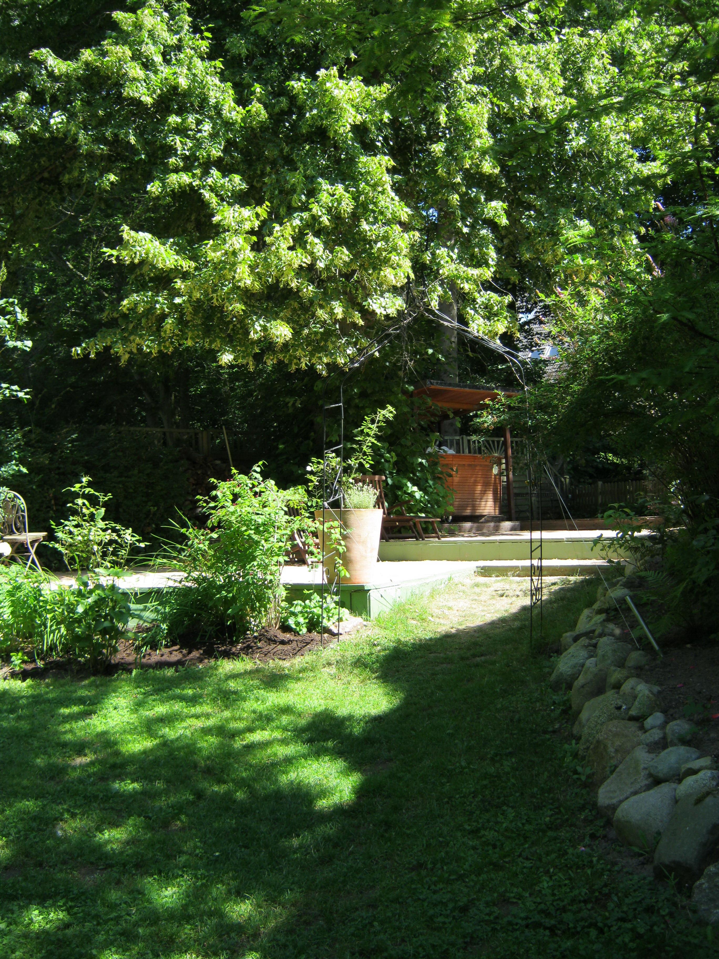 Unser Rosengarten
